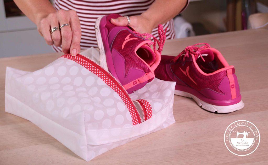 bolsas para zapatos coser facil menudo numerito blogs de costura