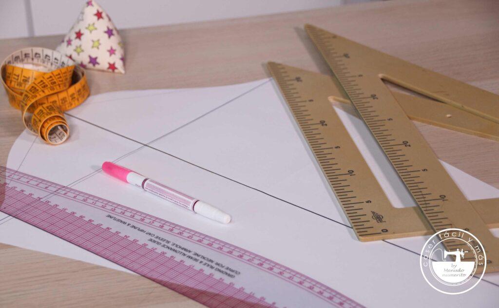 trazar manga base coser facil menudo numerito blogs de costura