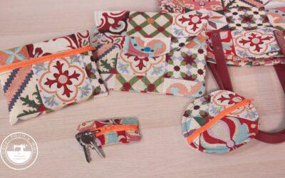 Complementos para el bolso Martina: llavero, monedero, neceser…