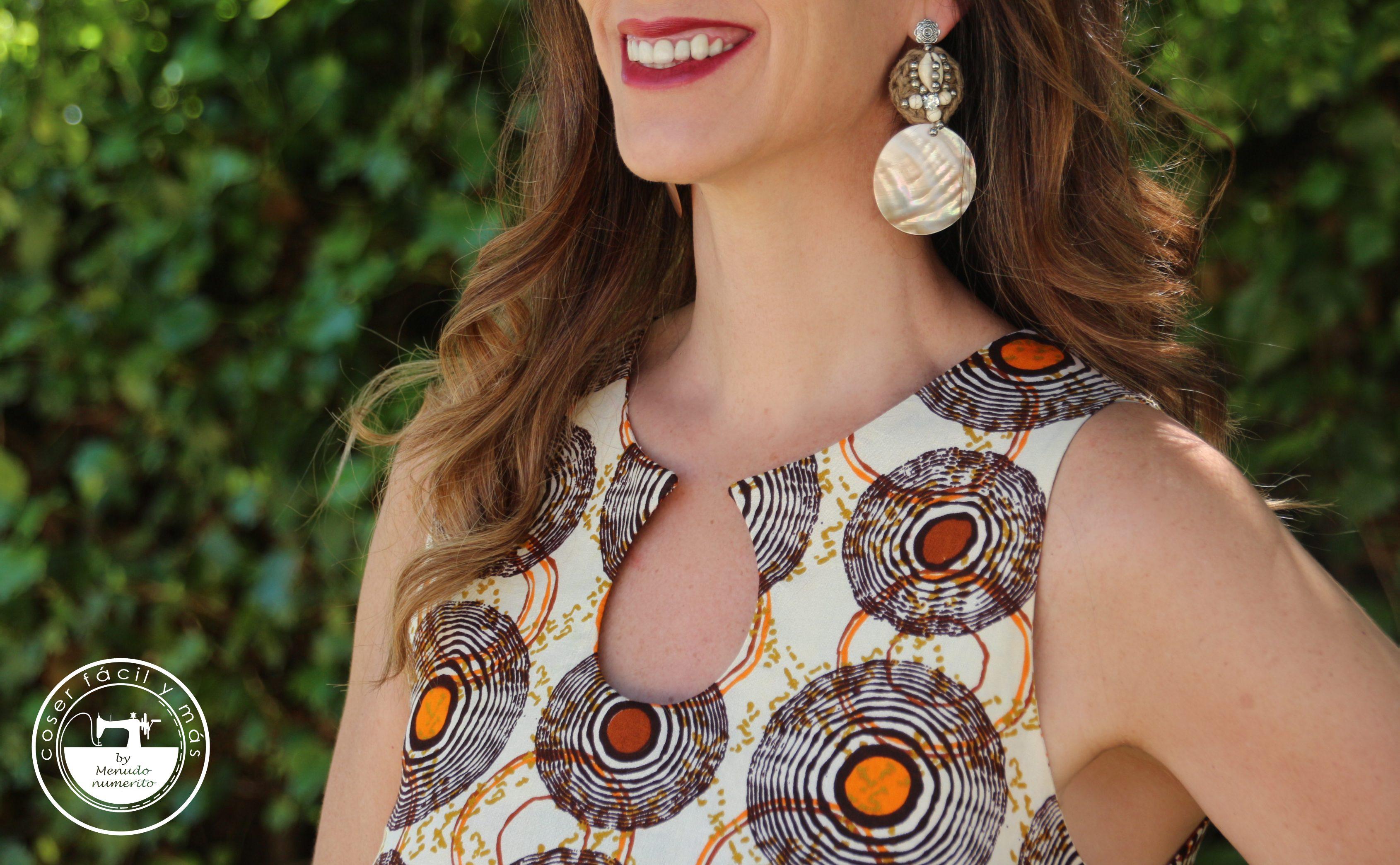 vestido con escote lagrima gota coser facil blogs de costura menudo numerito