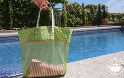 Bolso de mesh «Sanur», ligero y cómodo