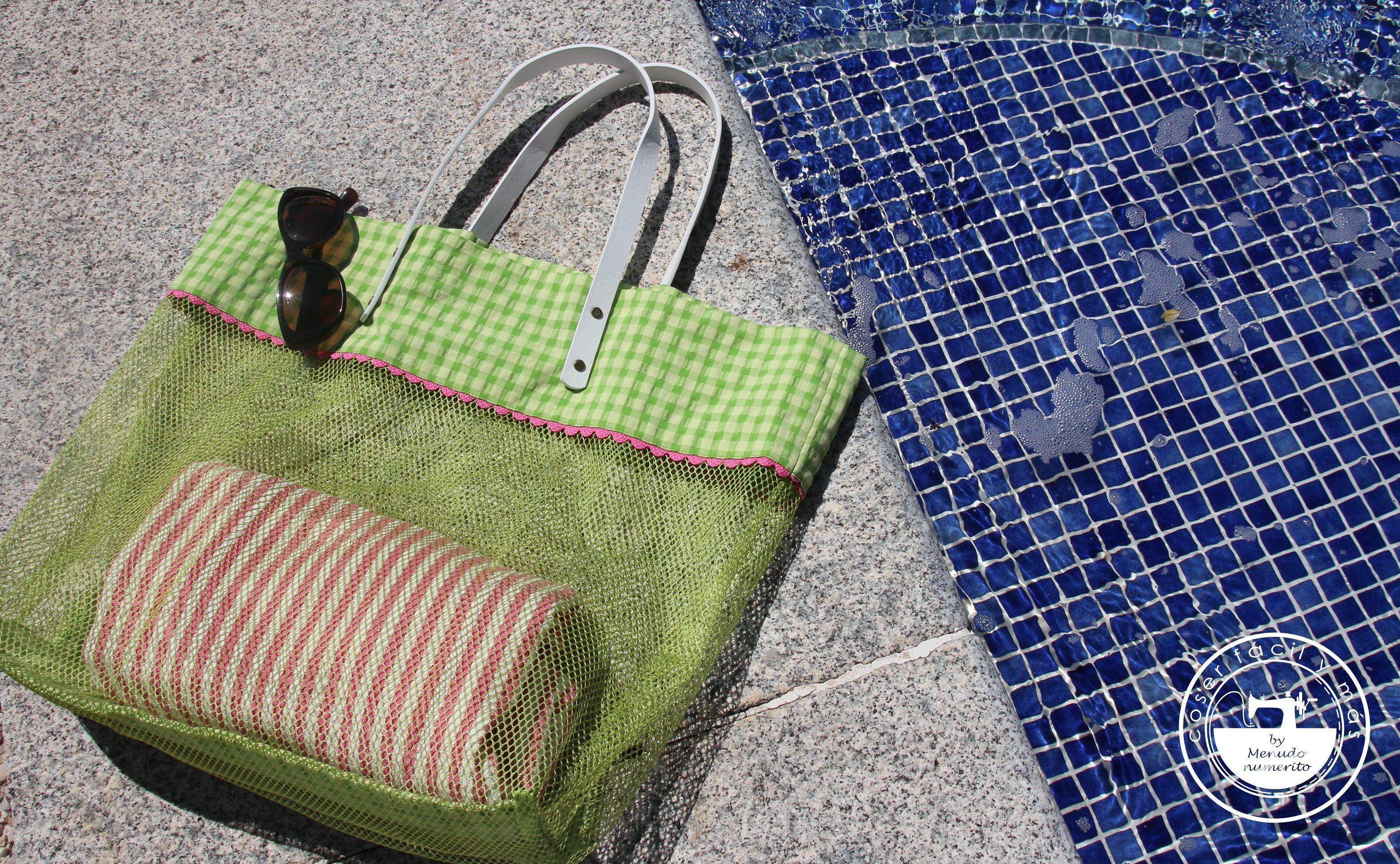 bolso de mesh playa coser facil blogs de costura menudo numerito