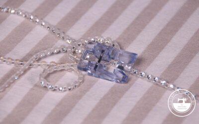 Prensatelas para coser lentejuelas, perlitas o strass