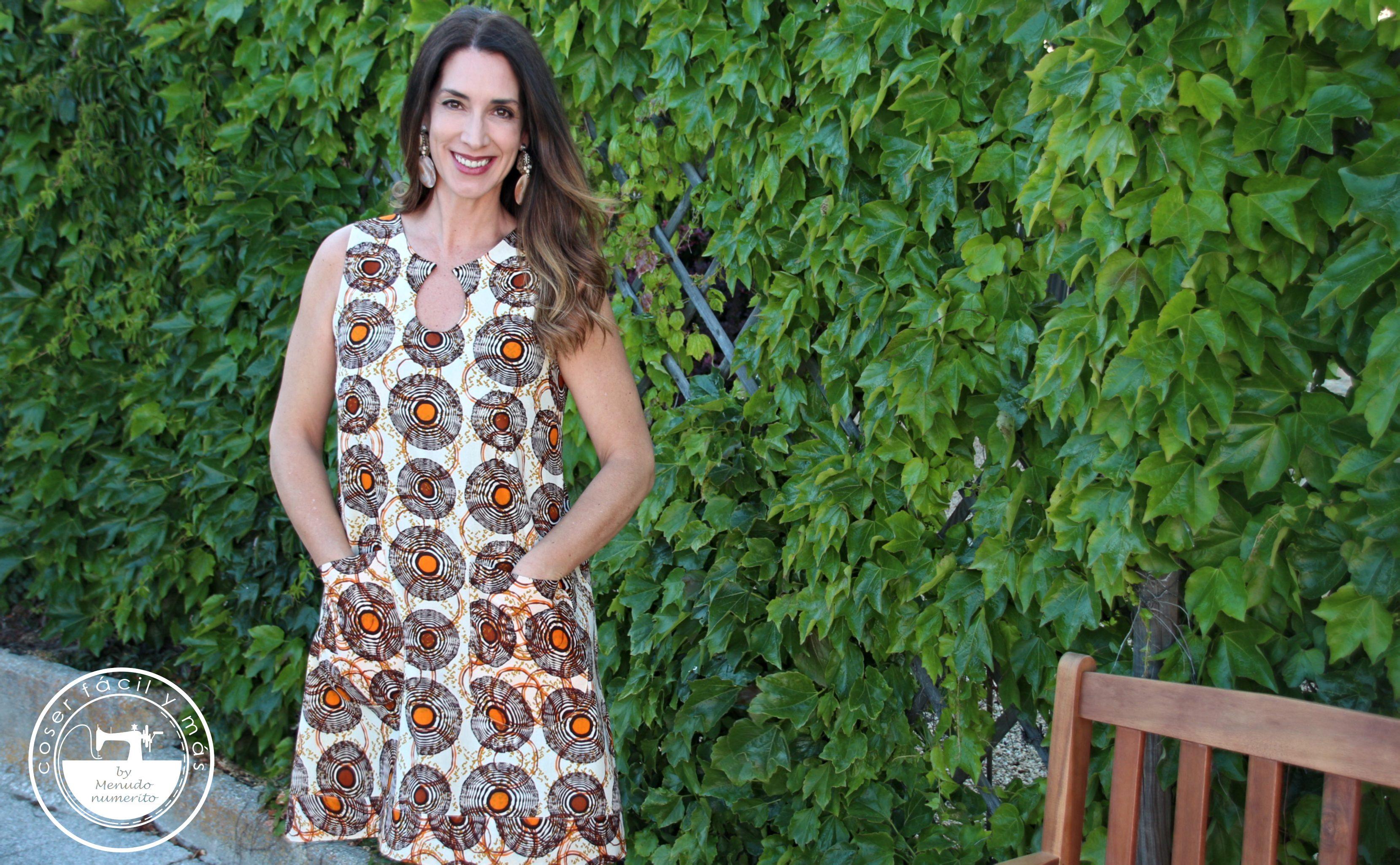 vestido con escote lagrima coser facil menudo numerito blogs de costura