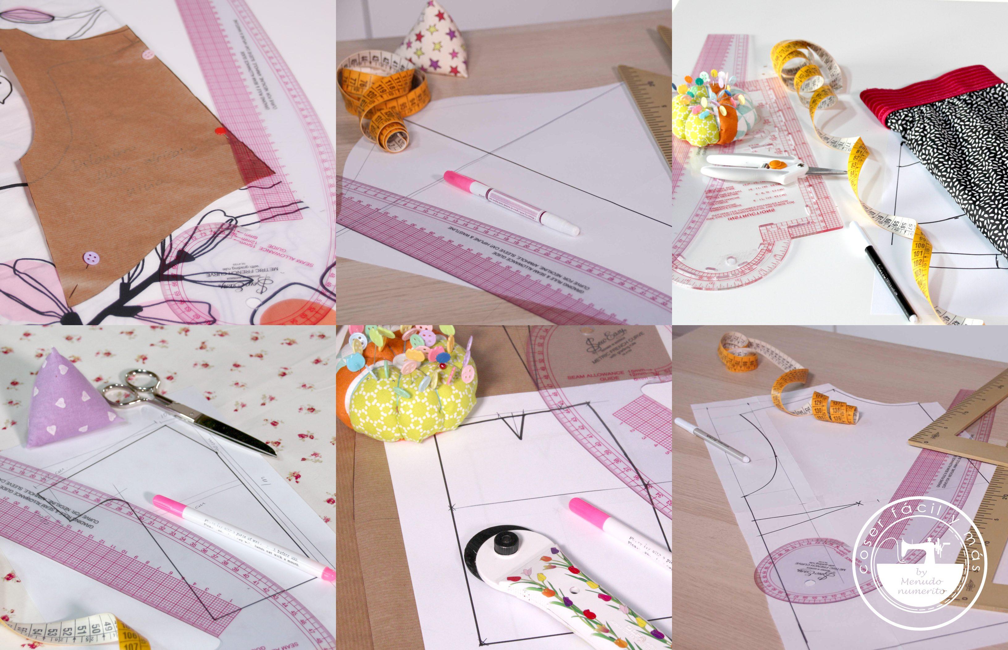 trazar patrones a medida coser facil menudo numerito blogs de costura