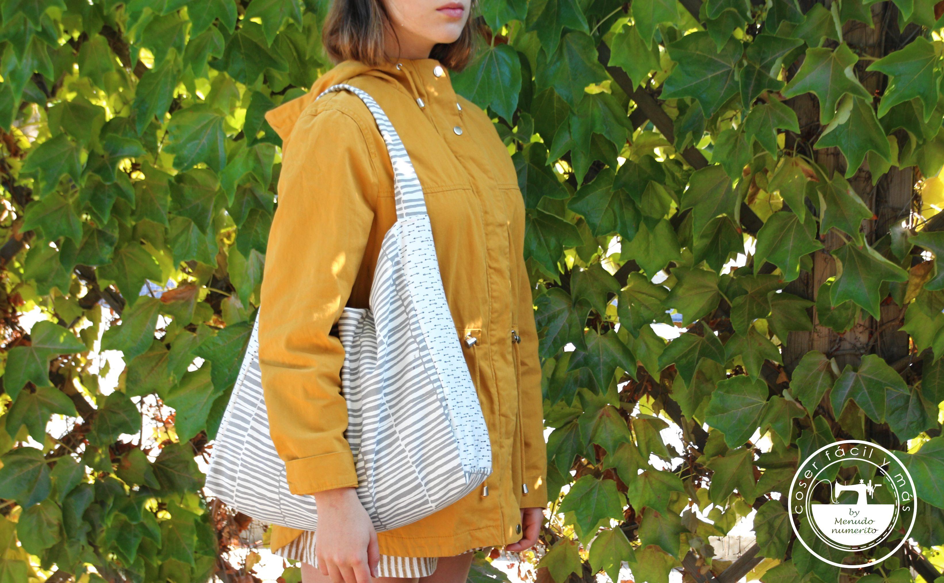 bolso de loneta coser facil menudo numerito blogs de costura