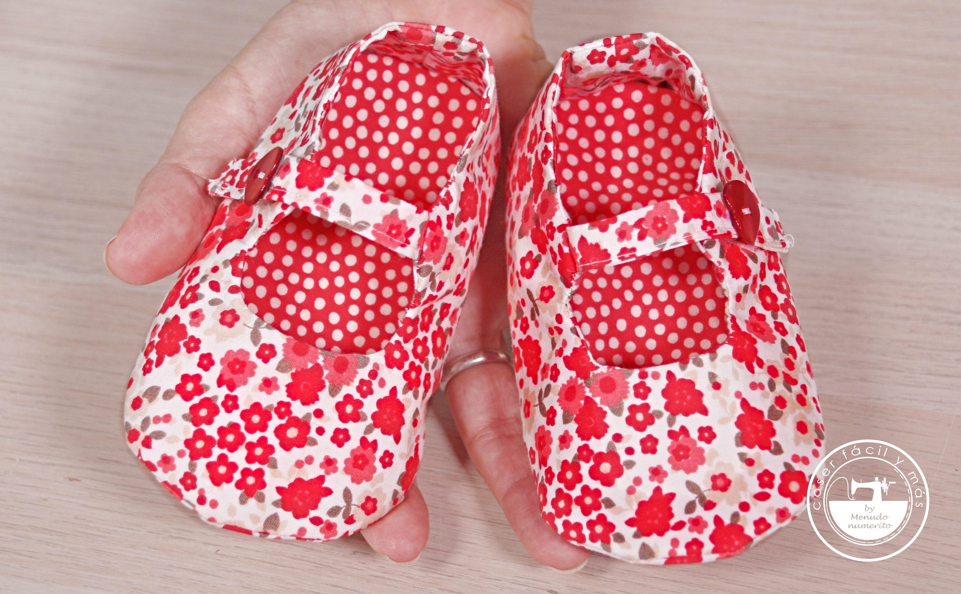 zapatos de bebe tela coser facil blogs de costura menudo numerito