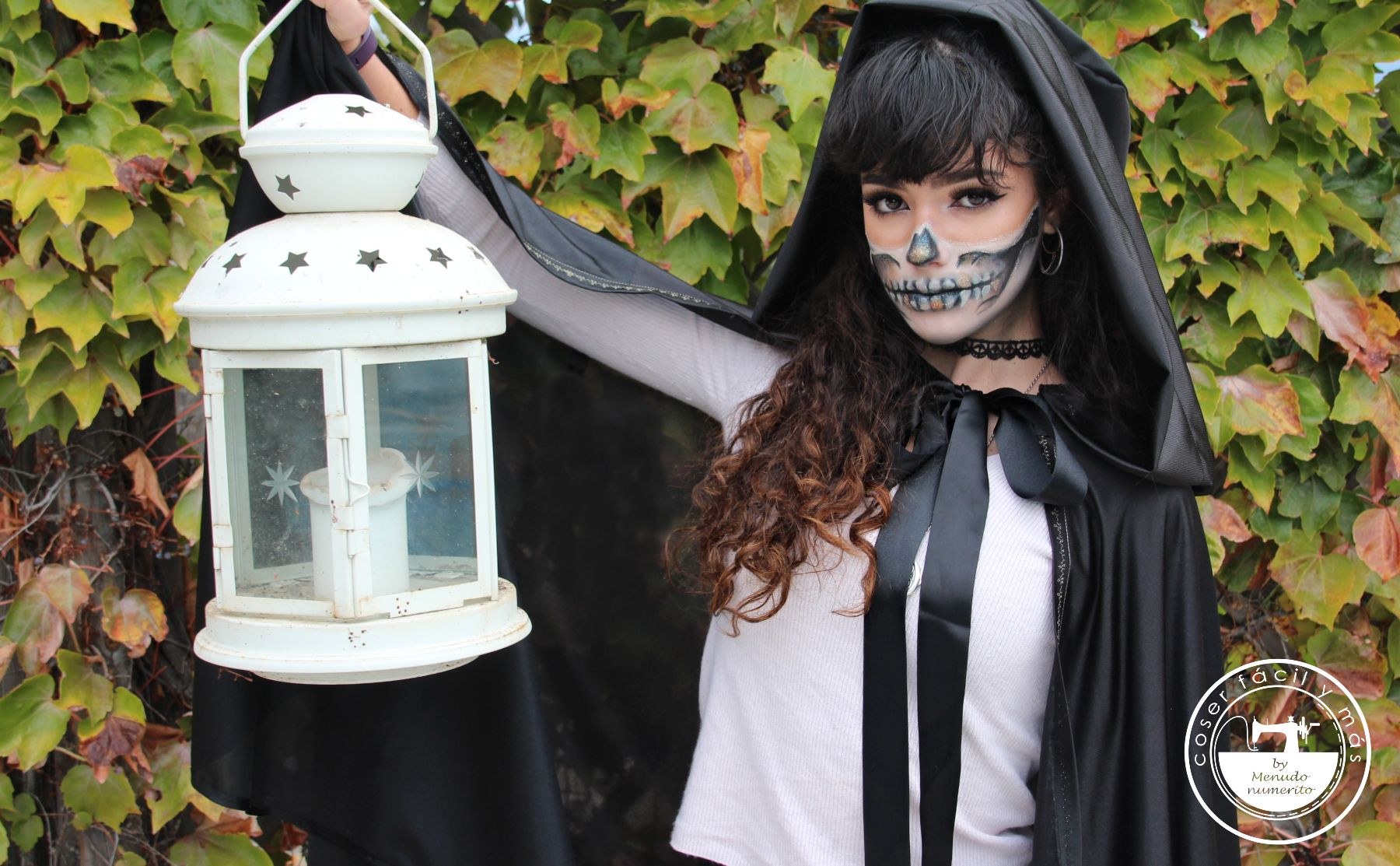 capa con capucha halloween coser facil blogs de costura
