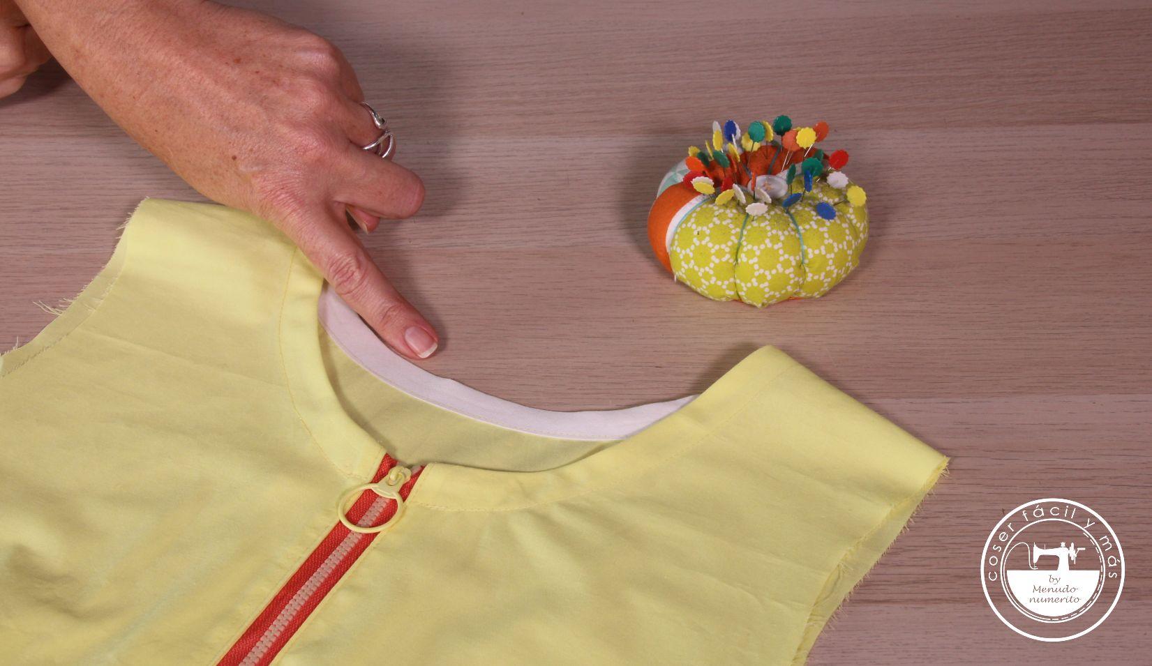 rematar escote con bies o sesgo coser facil menudo numerito blogs de costura