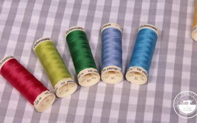Tipos de hilo para coser a máquina y… ¡Sorteo!
