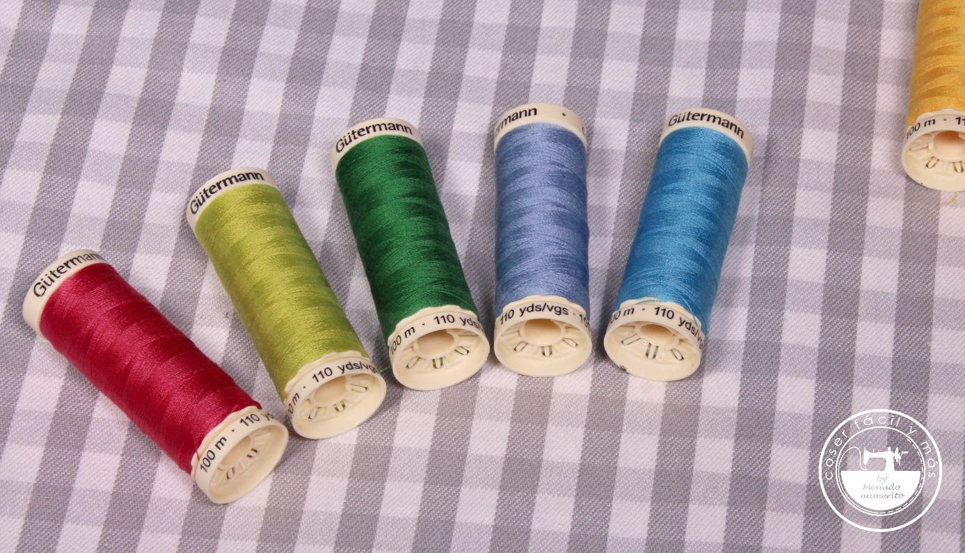 hilos para coser a maquina facil menudo numerito gutermann blogs de costura
