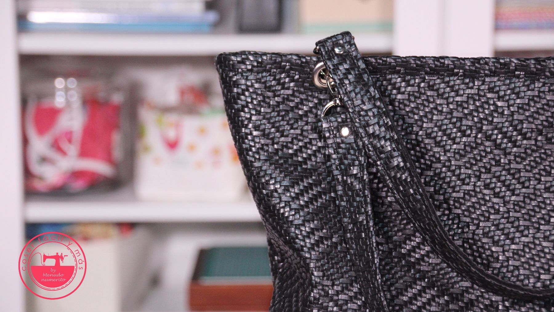 bolso polipiel trenzada coser facil blogs de costura