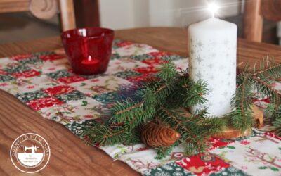 Camino de mesa para Navidad