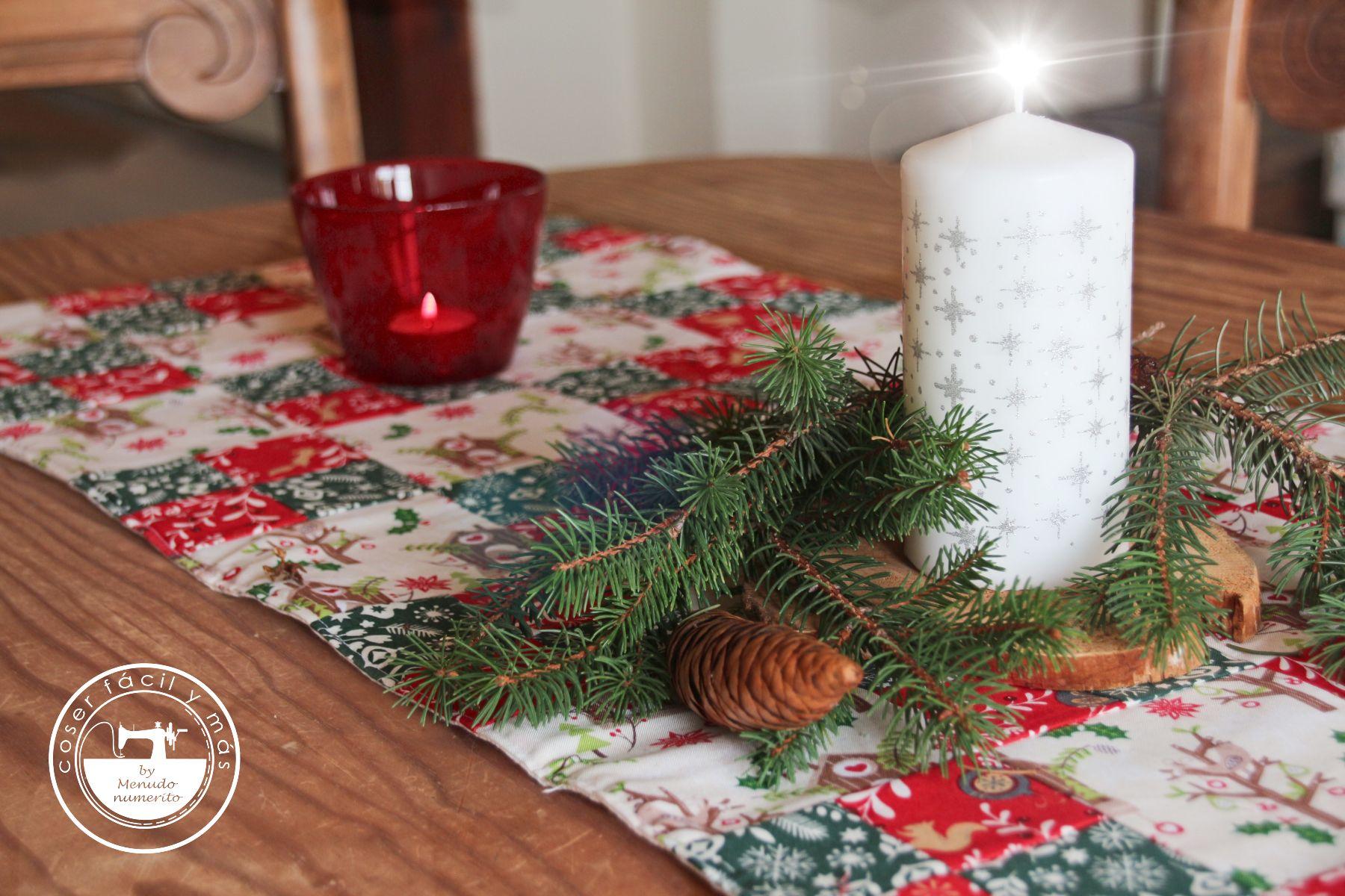 camino mesa navidad coser facil blogs de costura