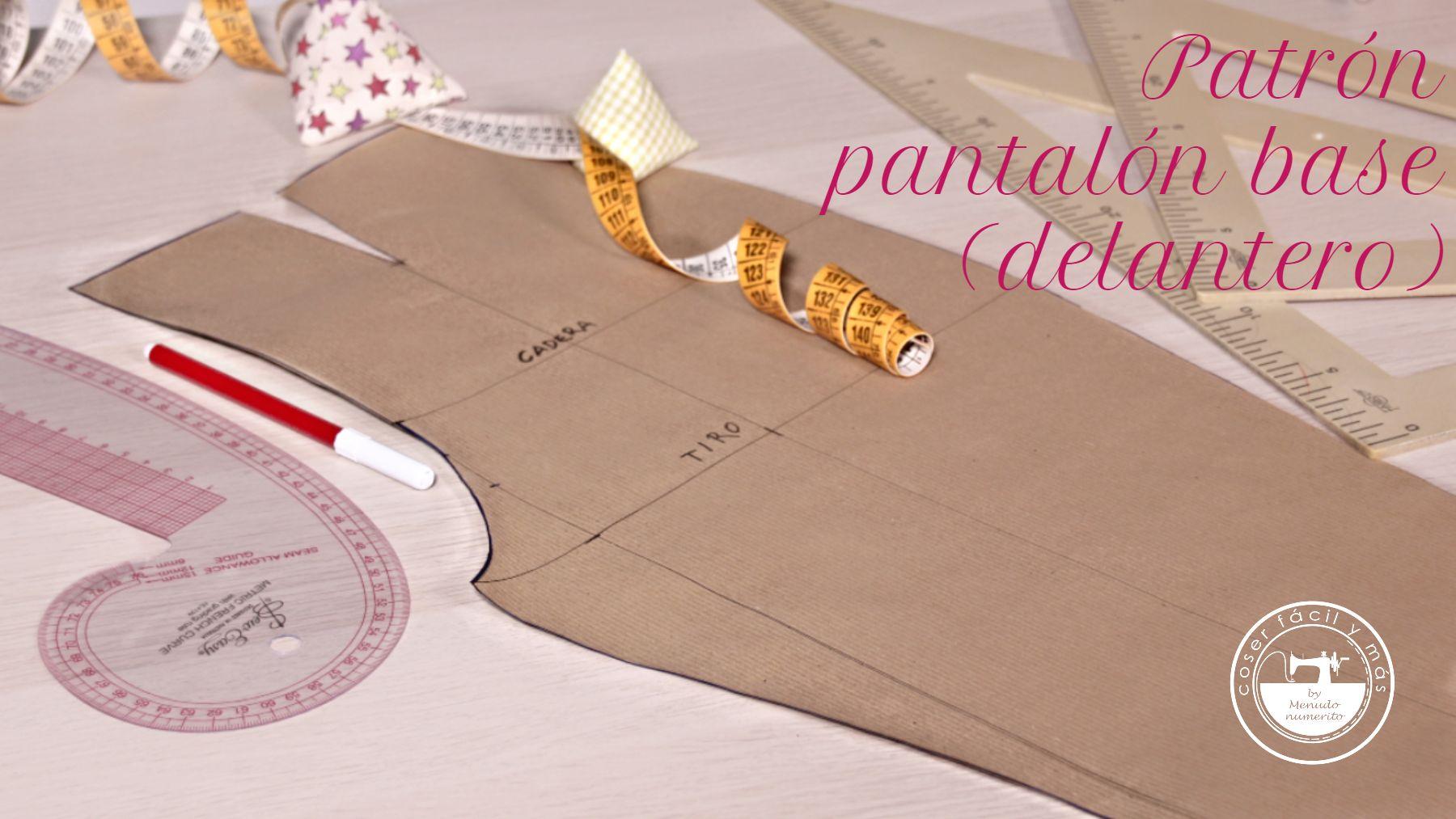 trazar patron pantalon basico coser facil blogs de costura