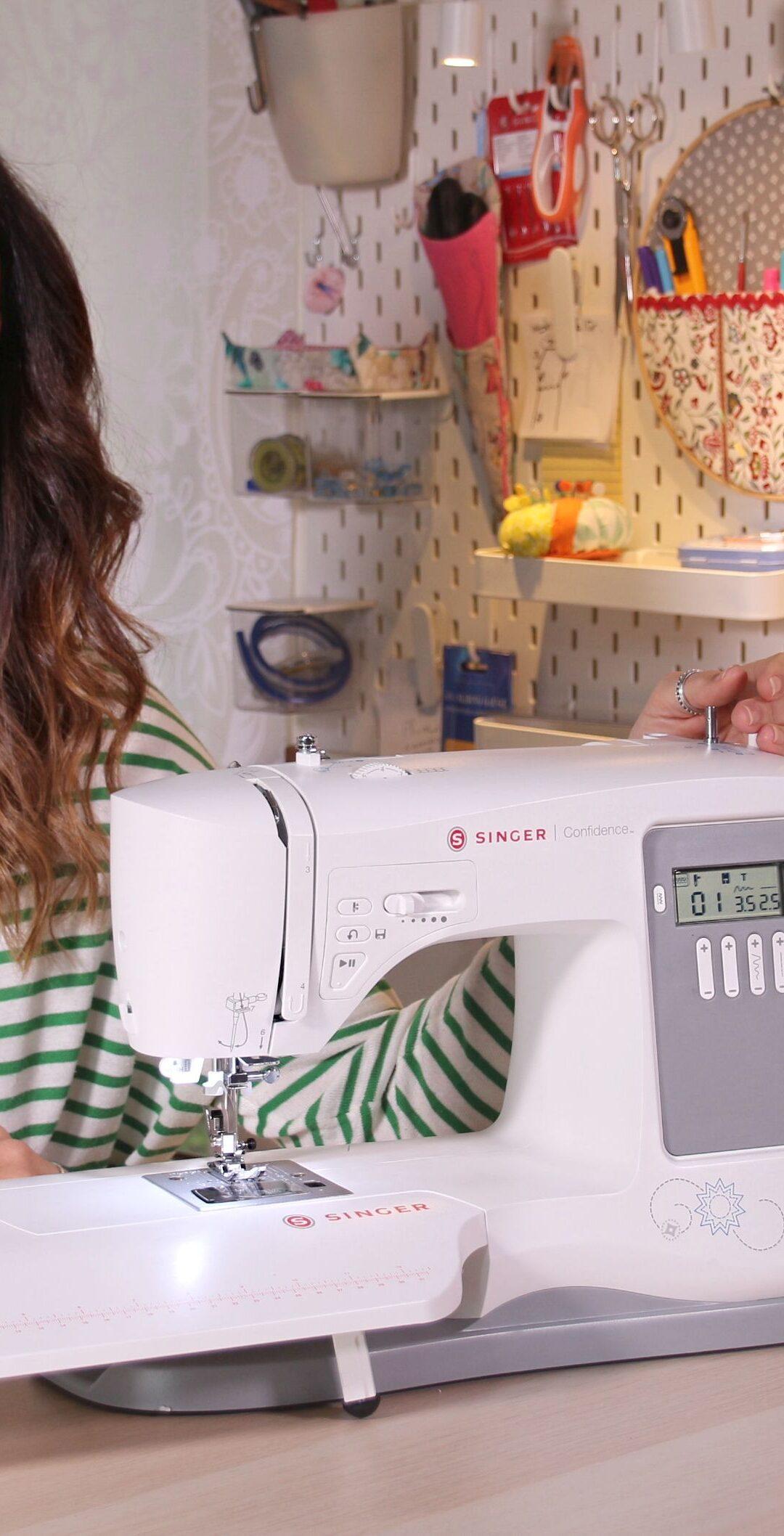 Sorteo máquina de coser Singer Confidence 7640