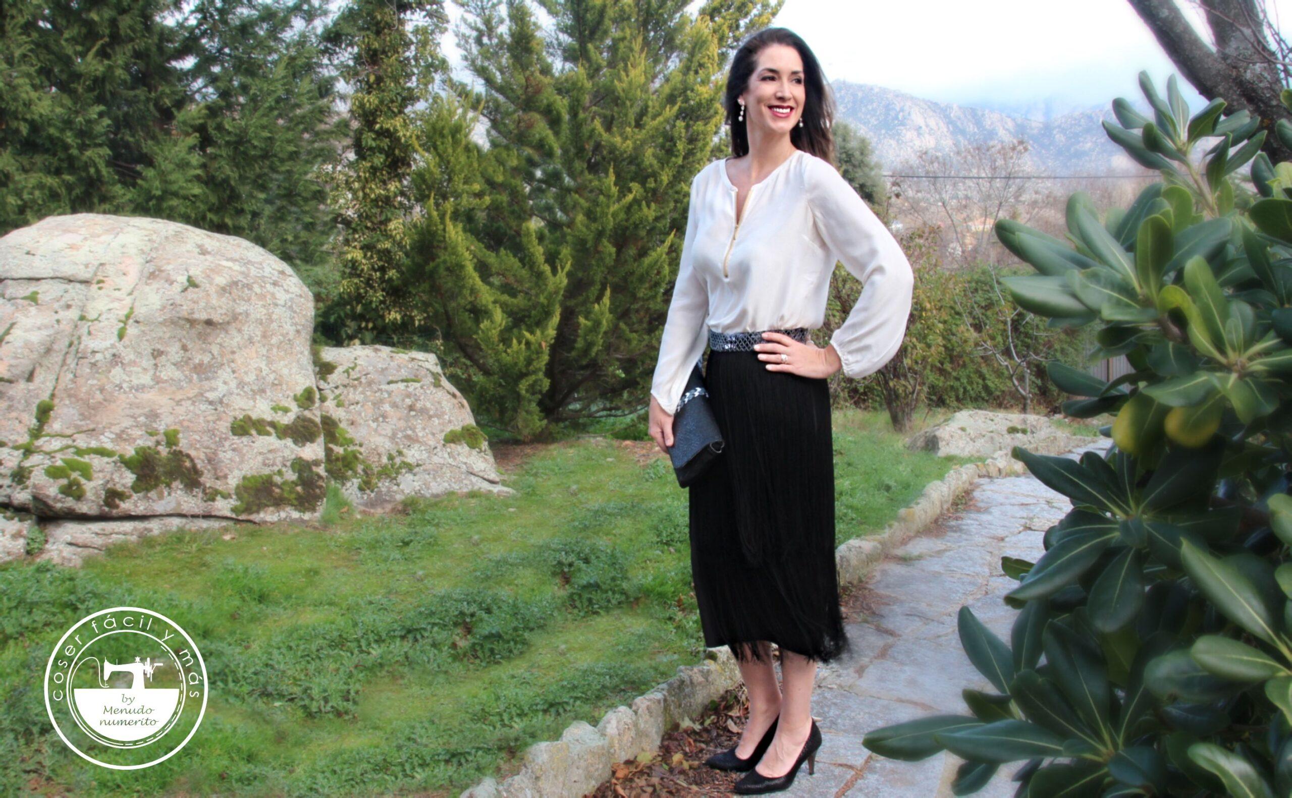 falda flecos coser facil blogs de costura