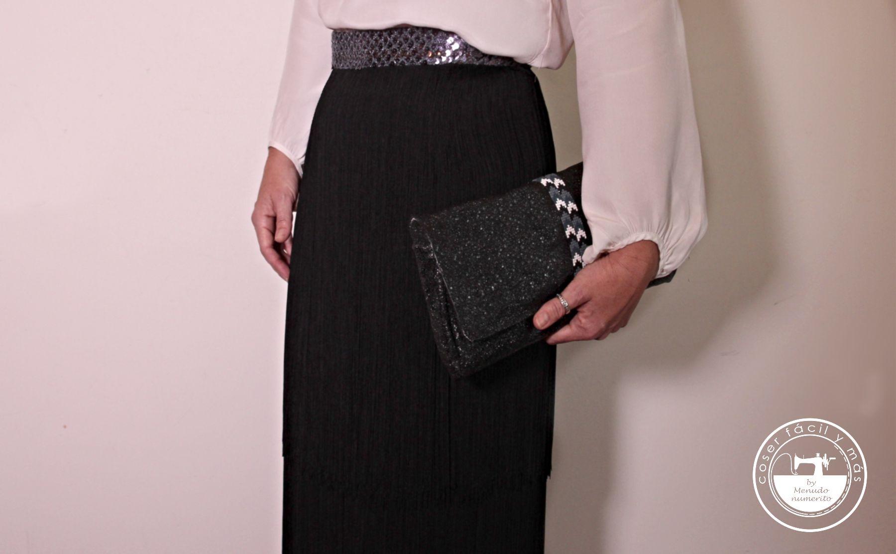 falda de flecos coser facil menudo numerito blgos de costura torcal