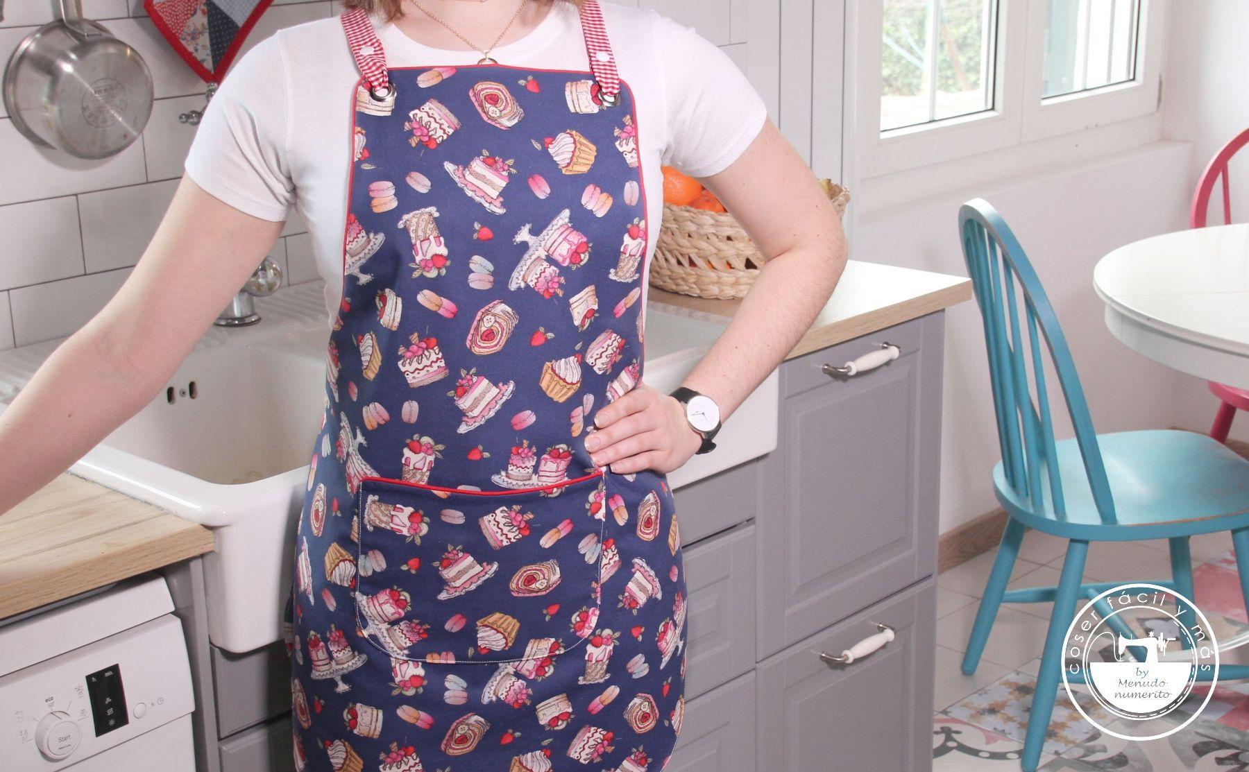 delantal reversible coser facil blog de costura