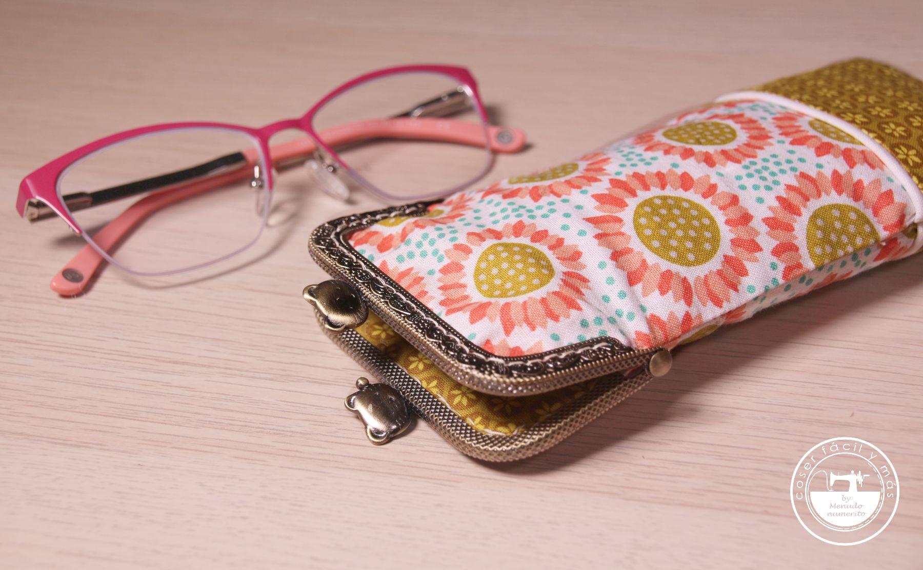 funda de gafas con boquilla coser facil blog de costura