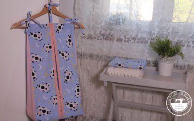 Pañalera o contenedor de pañales y otros proyectos para bebés