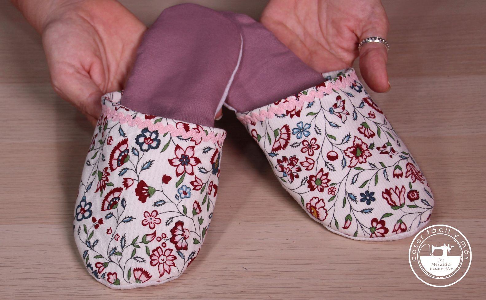 zapatillas de casa tela coser facil blogs de costura