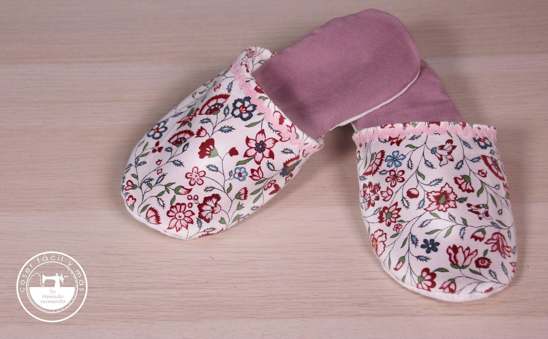 zapatillas de tela coser facil blog de costura