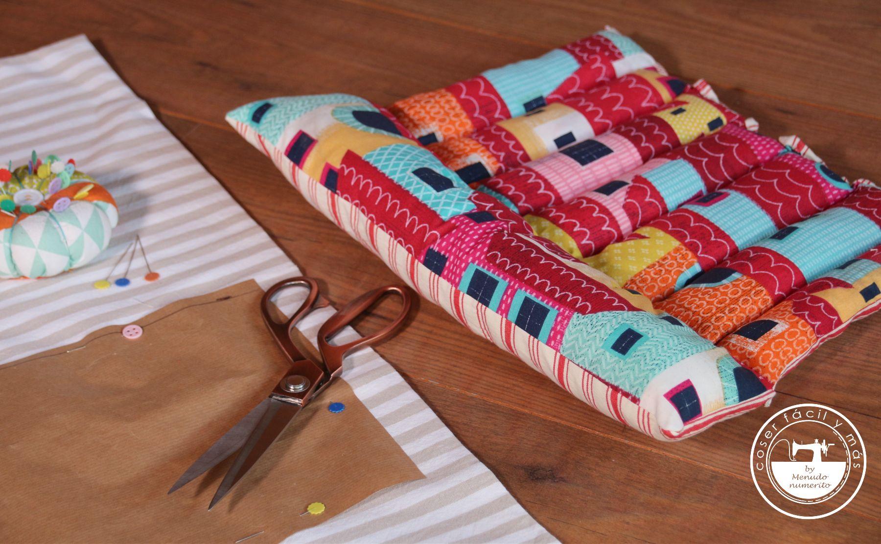 cojin cortar telas menudo numerito blog de costura