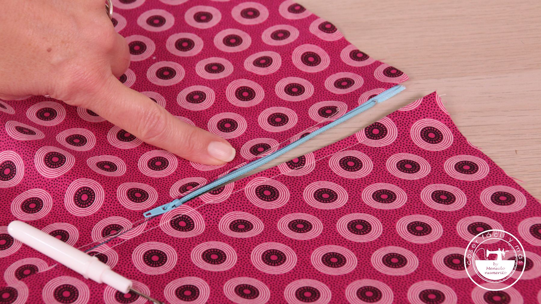 como coser cremalleras menudo numerito blog de costura