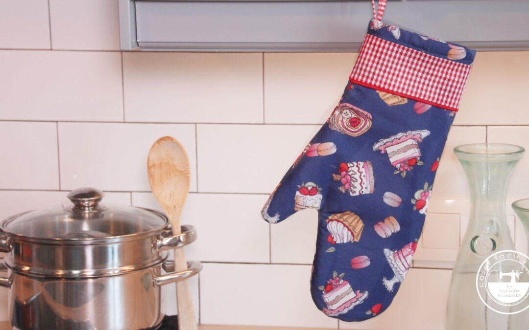 Guantes de horno o manoplas de cocina (patrones gratis)