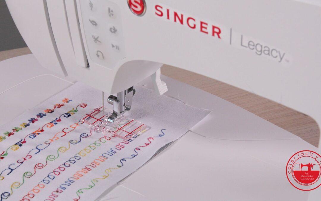 Puntadas decorativas de Singer Legacy C440