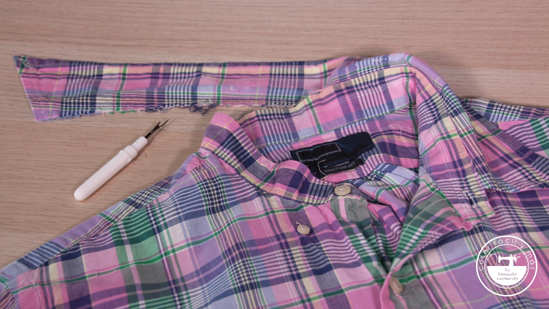 arreglar cuello camisa menudo numerito blogs de costura
