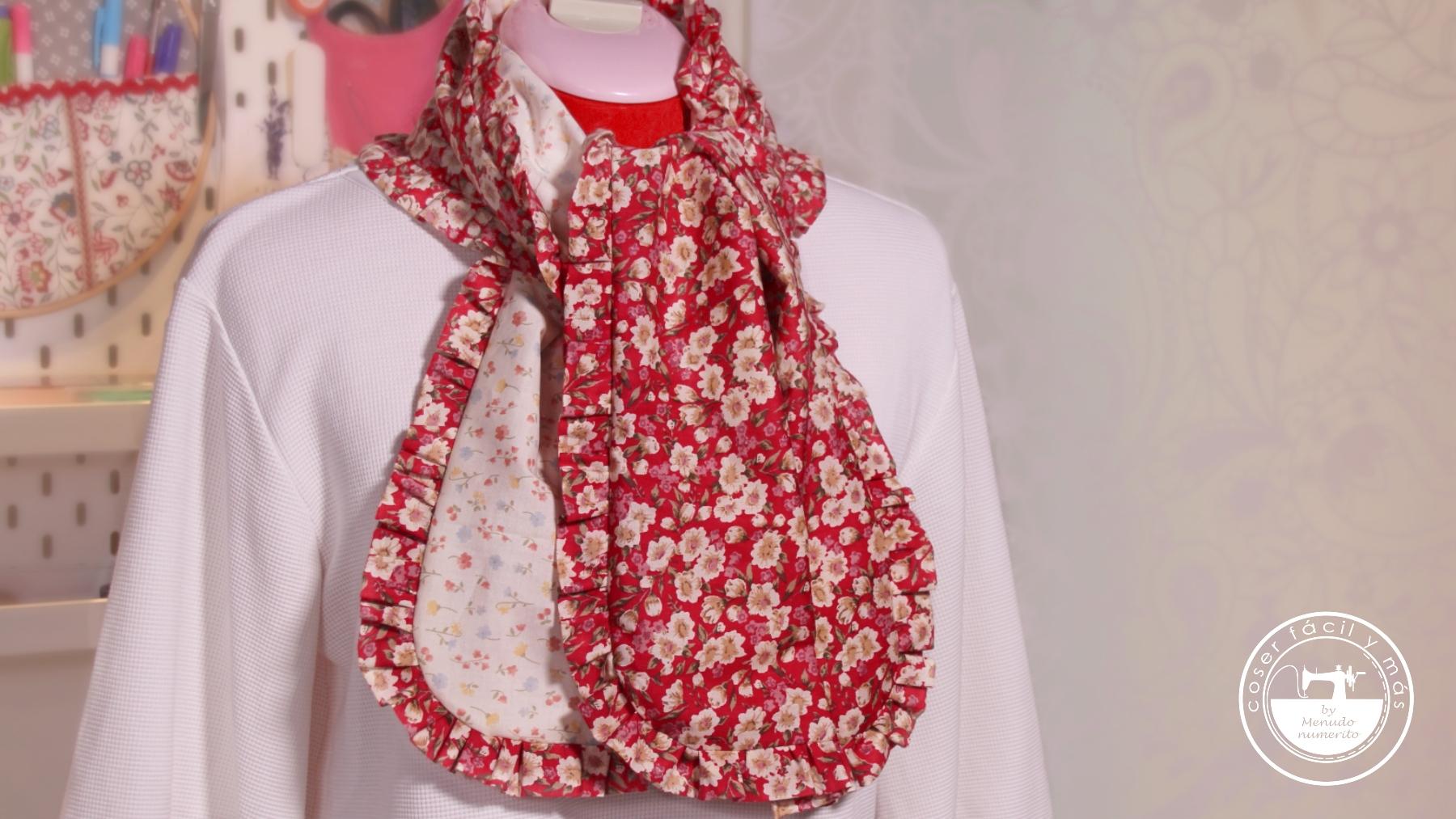 foulard reversible facil menudo numerito blogs de costura