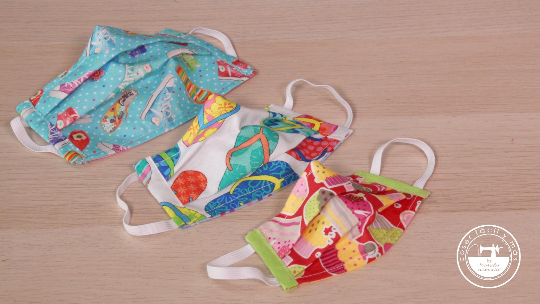 mascarillas para niños blogs de costura menudo numerito coronavirus