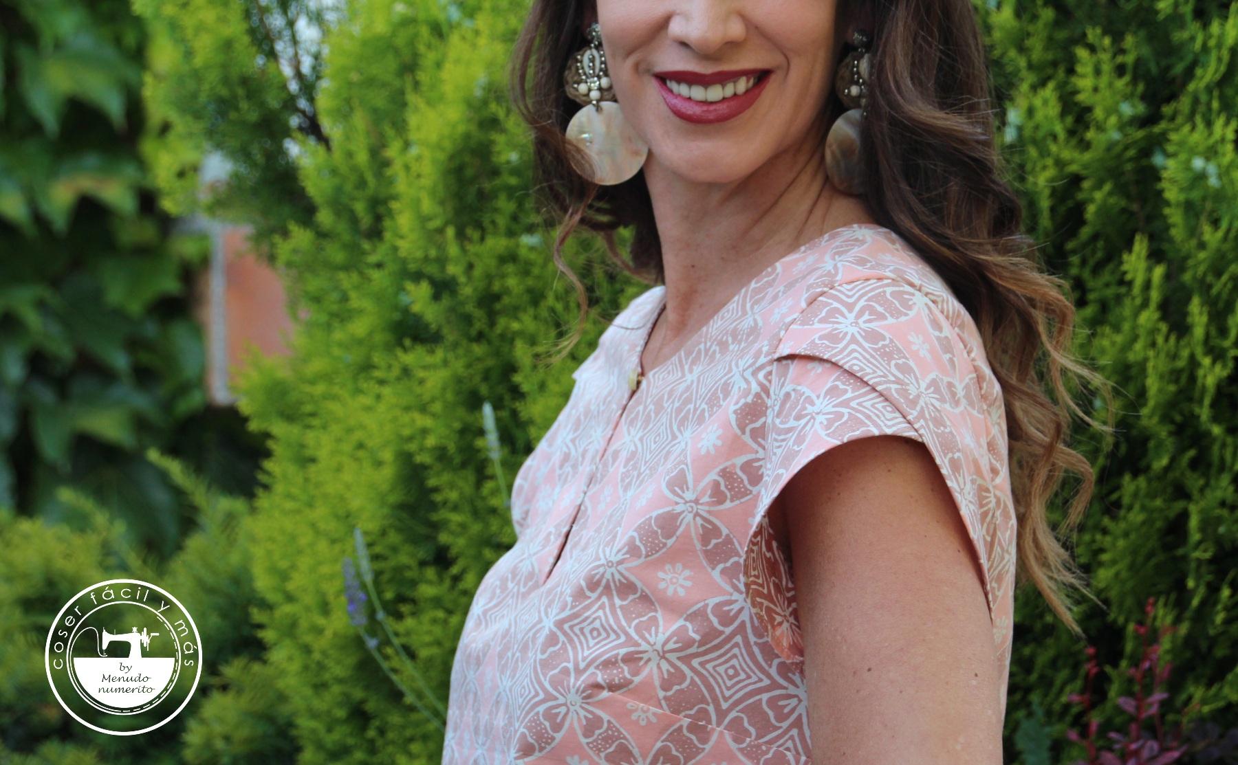blusa carmela manga tulipan menudo numerito blogs de costura