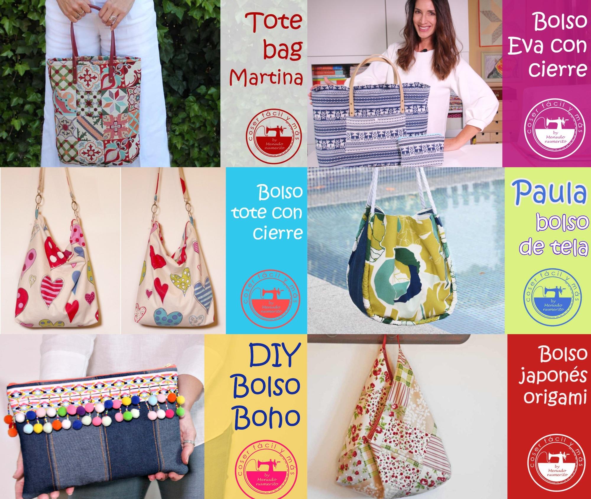 bolsos de tela menudo numerito blogs de costura