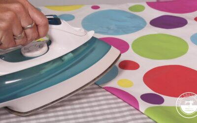 Cómo planchar vinilo, telas plastificadas o laminadas