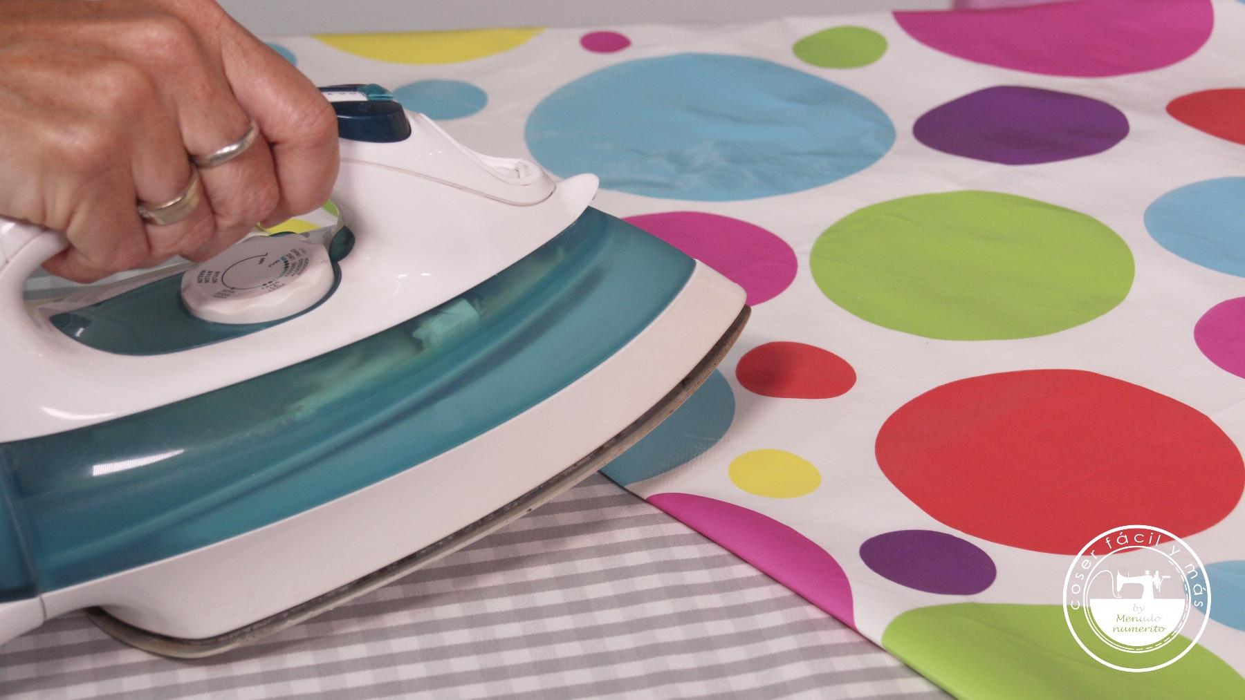 planchar vinilo telas plastificadas laminadas coser facil blogs de costura