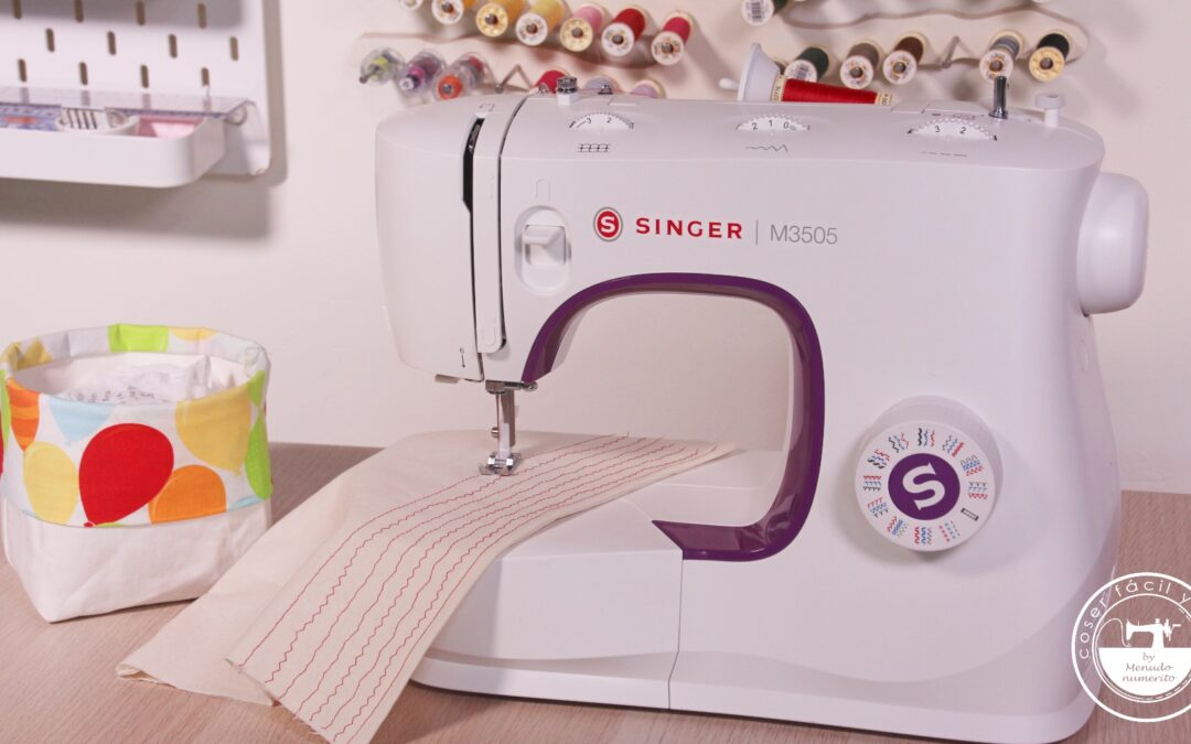 Review de la máquina de coser Singer M3505