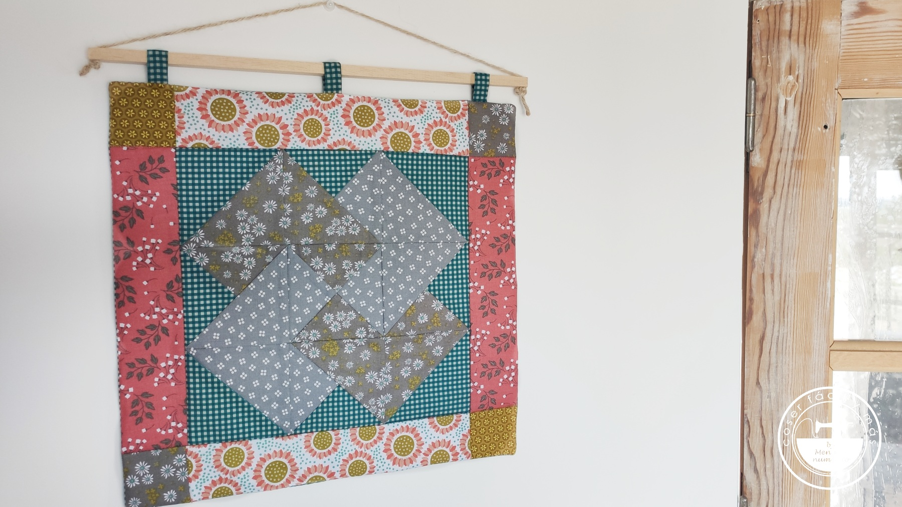 tapiz de pared juego de cartas patchwork menudo numerito blogs de costura