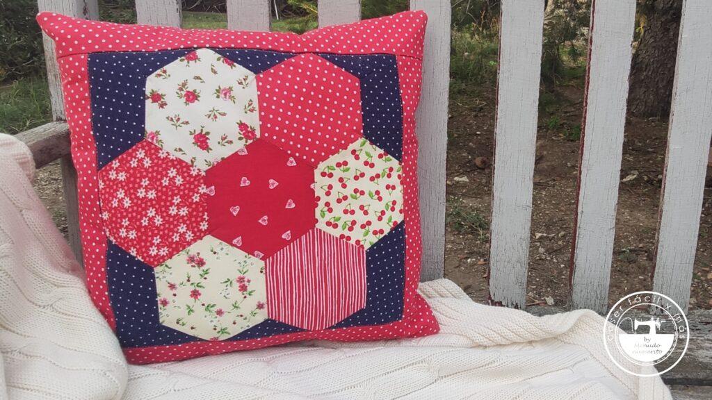 cojín patchwork singer coser facil blogs de costura