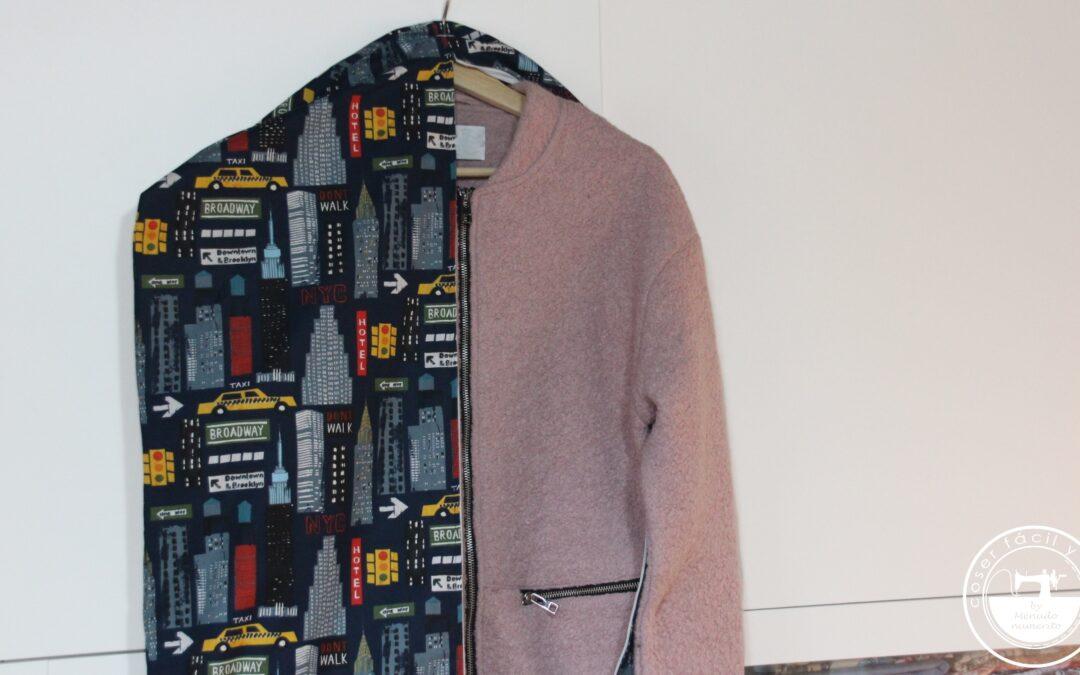 Funda para ropa, una ayuda para el cambio de armario