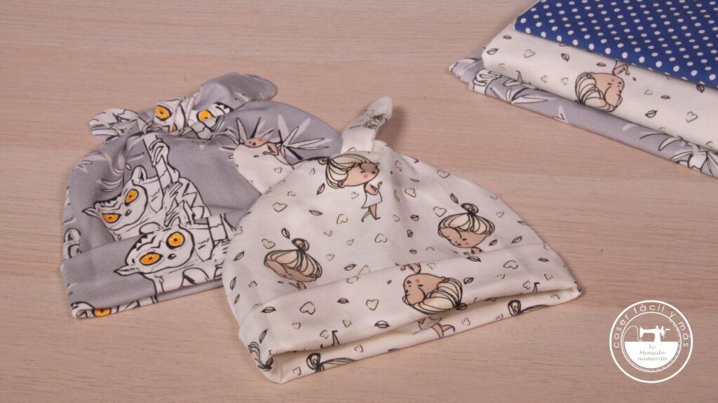 gorro bebe punto menudo numerito coser facil singer blogs de costura