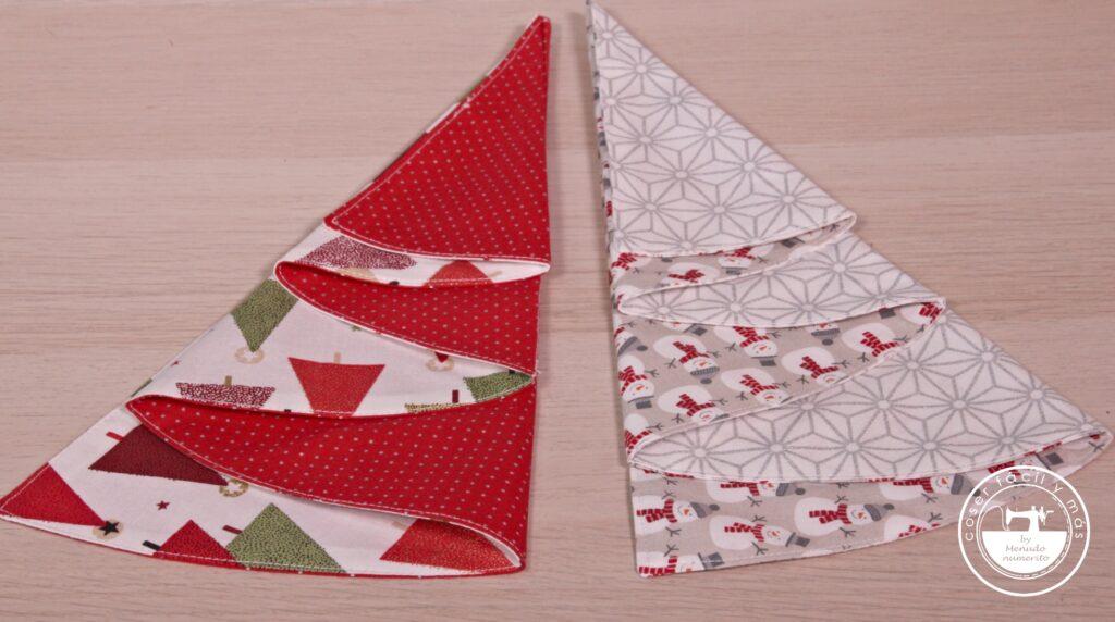 árbol de navidad servilleta menudo numerito blogs de costura