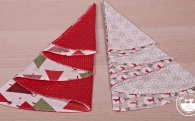 Adornos de Navidad: servilletas de mesa