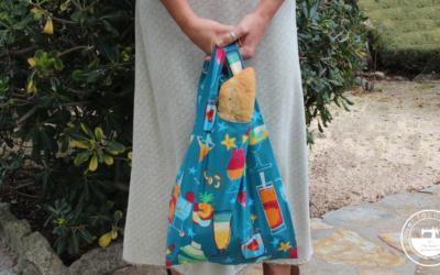 Idea eco: bolsa plegable para la compra
