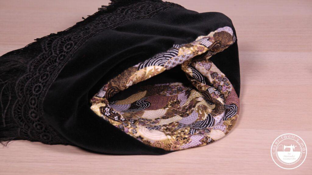 bolso boquilla fiesta flecos menudo numerito blogs de costura