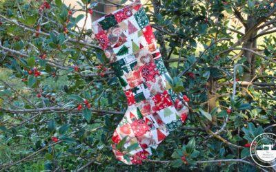 Adornos de Navidad: calcetín navideño