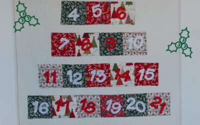 Calendario de Adviento hecho a mano