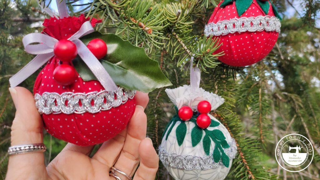 bolas esferas arbol de navidad menudo numerito blogs de costura